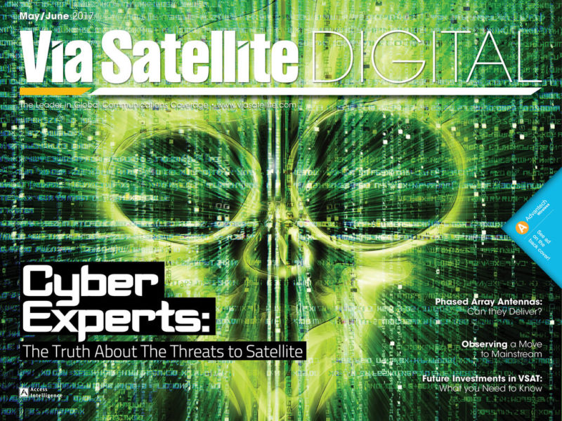 Via Satellite May/June 2017 magazine cover