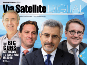 Via Satellite January / February 2018 magazine cover