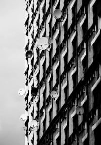 Building with Satellite Dishes