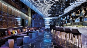 Located on the 118th floor of the Ritz Carlton Hotel in Kowloon, Ozone Sky Bar is a great place for drinks after APSCC with stunning views of Hong Kong Island. Photo: Ritz Carlton