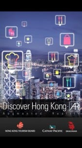 Using augmented reality technology, the Discover Hong Kong AR app shows everything the city offers around you. No Internet connection necessary. Photo: iTunes