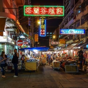 3Temple Street Night Market