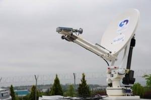 SVS Satellite Systems' SVSAT78-Ka Auto-Pointing Antenna System Image credit: SVS Satellite Systems