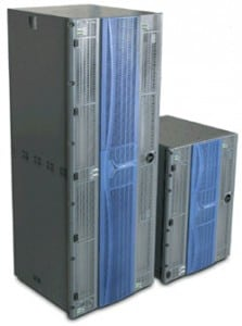 Harris Broadcast's Platinum  router, which will to ensure video, audio and data reliability across the facility. Photo: Harris Broadcast