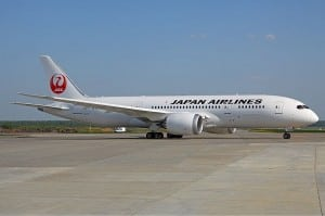 Japan Airlines Boeing 787 Dreamliner