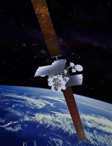 Inmarsat 5 satellite