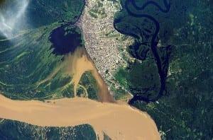 Iquitos Peru NASA Satellite Image