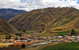Apartaderos, a small Andean town in Mérida State, Venezuela, is located at an altitude of 3,505 metres (11,502 feet). Courtesy of Prensa MINTUR Venezuela