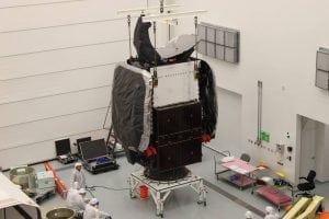 SES 8 satellite at Cape Canaveral