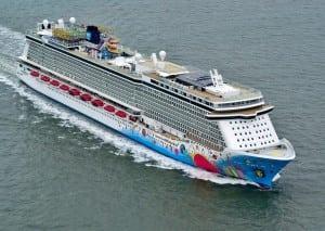 Norwegian's Breakaway cruise ship. Photo: Norwegian
