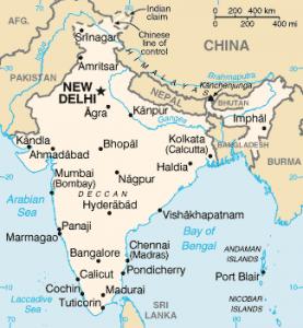 India. Photo: Wikimedia Commons