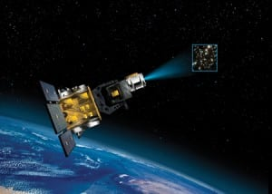 Boeing Space-Based Space Surveillance System. Photo: Boeing image
