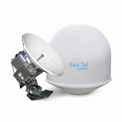 Sea Tel 4009 VSAT Broadband-at-Sea System. Photo: Comtech EF Data