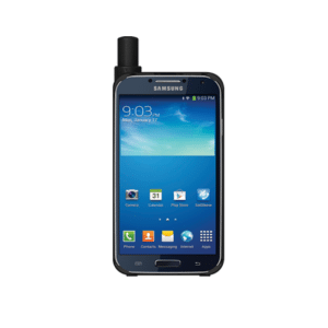 Thuraya SatSleeve on a Samsung Galaxy phone. Photo: Thuraya