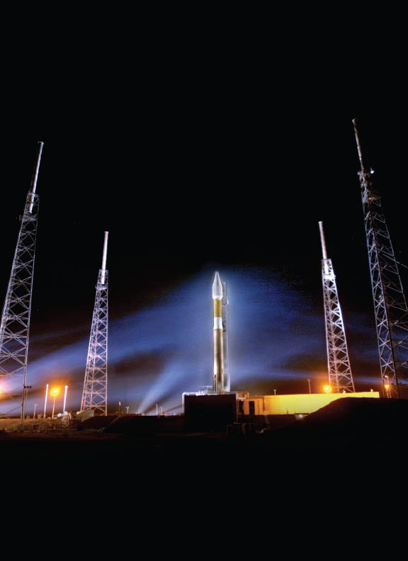 The Atlas V rocket operated by the Lockheed Martin-Boeing joint venture United Launch Alliance. Photo: Lockheed Martin