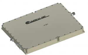 Comtech GaN amplifier. Photo: Comtech