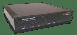Romantis UHP 1000 satellite router. Photo: Romantis
