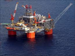 Offshore oil field. Photo: Wikipedia Commons.