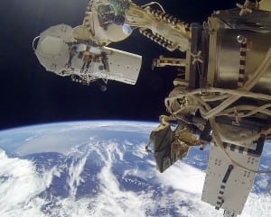 Urthecast cameras on the ISS. Photo: Urthecast