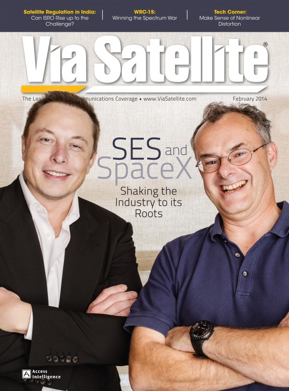 Via Satellite February 2014 Cover