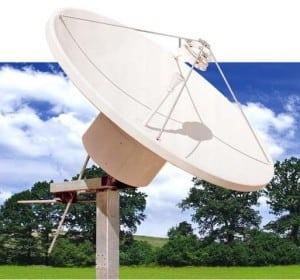 ASC satellite antenna