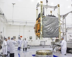 Boeing GPS IIF 5 satellite
