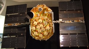 GPS satellite. Photo: Wikimedia Commons
