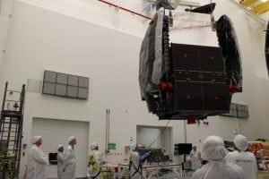 SES 8 satellite. Photo: SpaceX