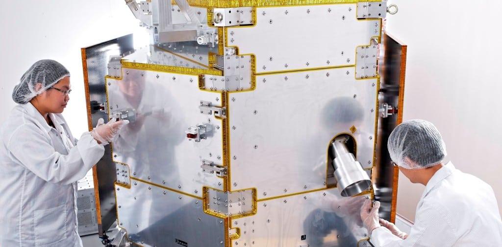 TeLEOS 1 Earth Observation Satellite