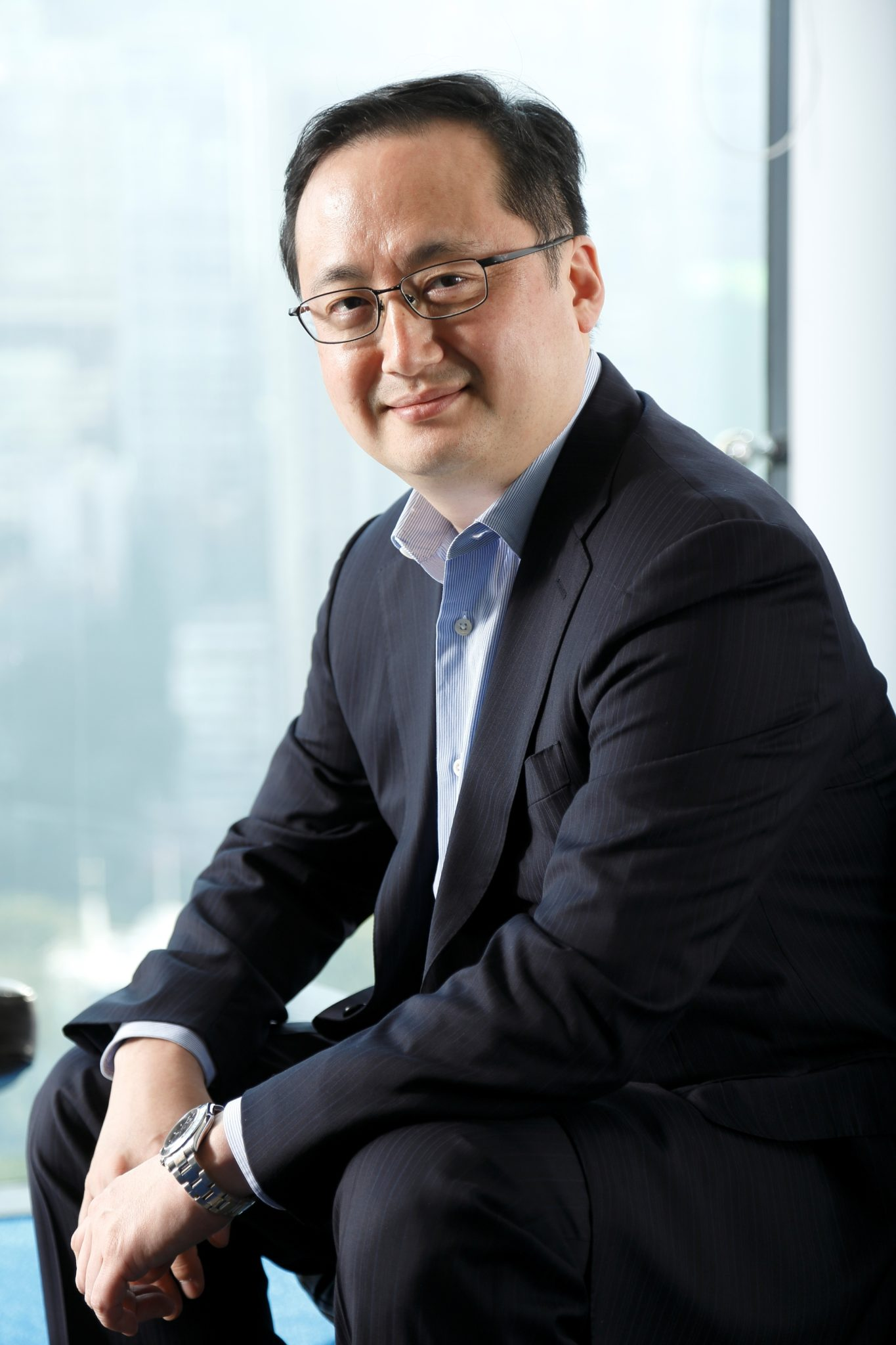 Thomas Choi, co-founder and CEO of ABS