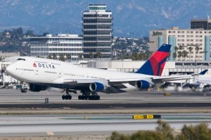 Delta Airlines Boeing 747-400