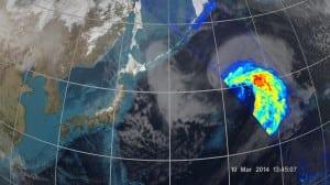 GPM image JAXA  NASA