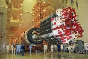 Glonass M satellite