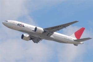 JAL Boeing 777-200ER Wikimedia Commons
