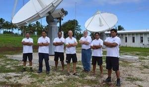 Telecom Cook Islands team O3b