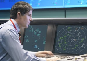 Air Traffic Control (ATC) room Aireon
