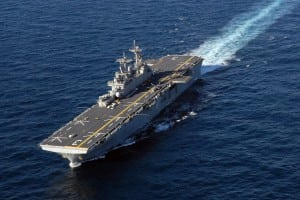 Amphibious assault ship Navy