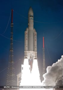Azerspace 1 launch