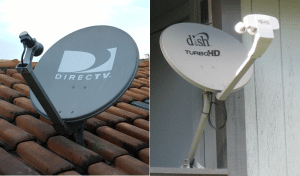 DTV Dish satellite
