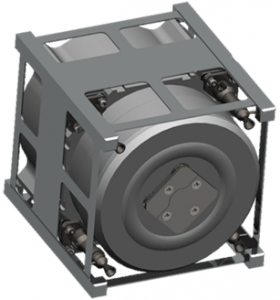 Aerojet CAD CubeSat 3-D printing