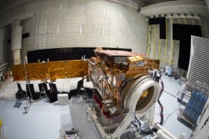 Sentinel 1A & Jason3 in Thales Alenia Space Cannes facility