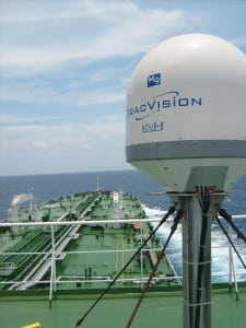 TracVision M9 on Tanker
