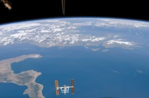 View of ISS