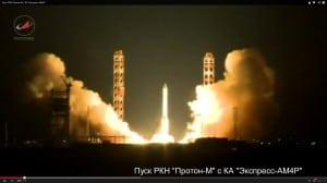 Roscosmos proton M launch