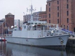 UK Royal Navy HMS Ramsey