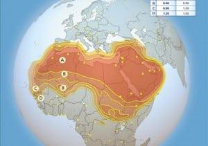 Arabsat 26 degrees east