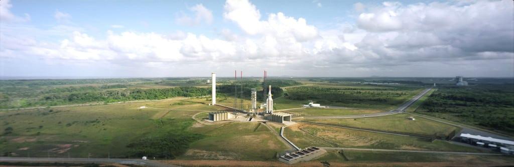 ZL-3 launch pad Ariane 5
