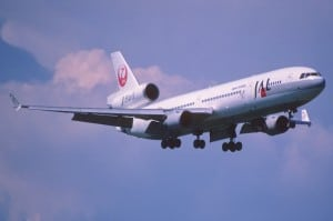 Airplane IFC JAL