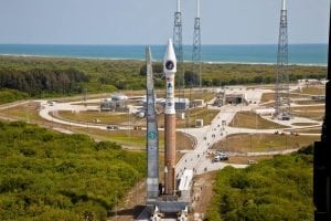 Rollout of Atlas 5 SBIRS Geo 1.