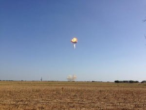 Spacex F9R Explosion